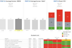 P/SAT Analysis by Exam Type